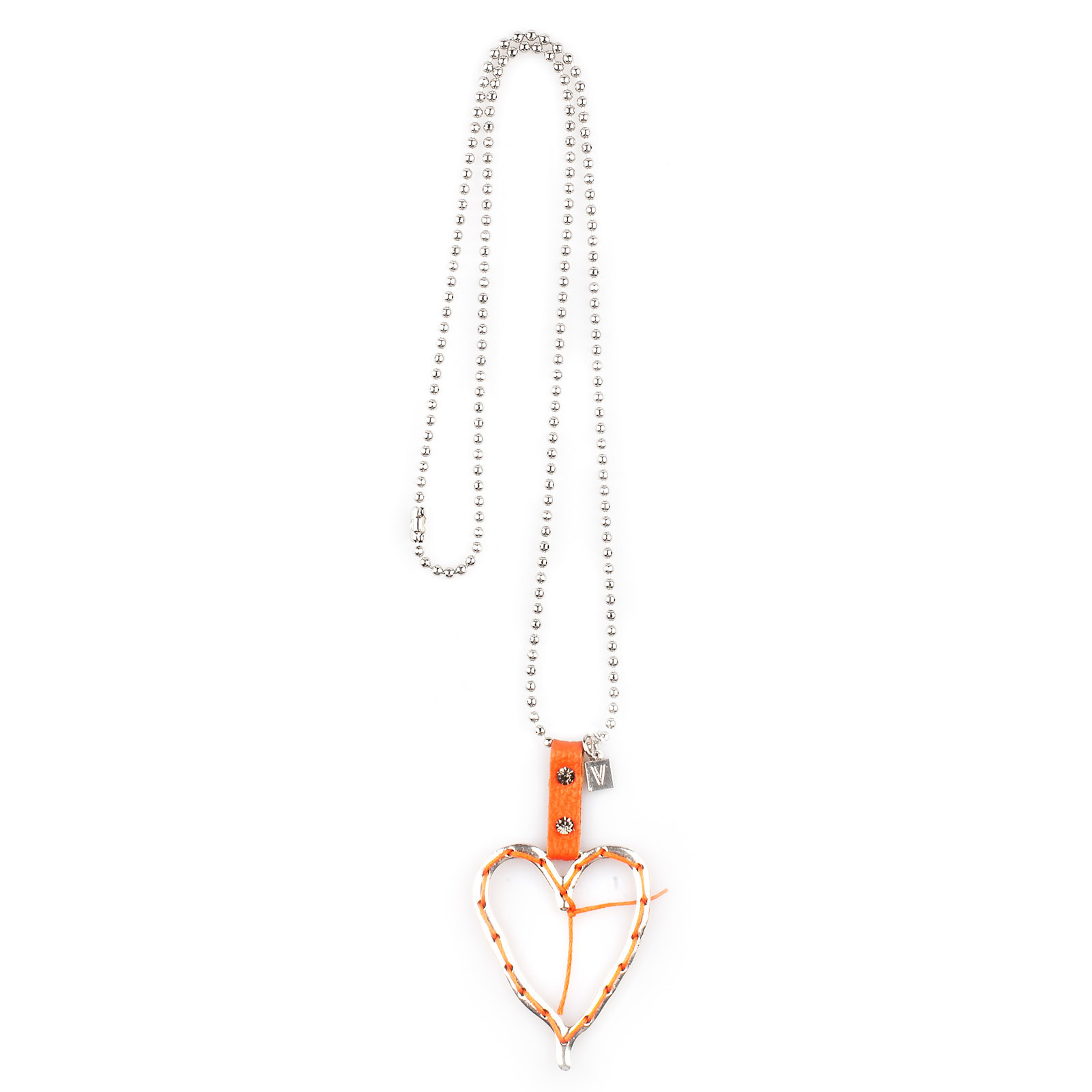 vaga-halsband-orange-hjarta