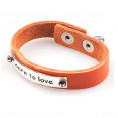 vaga-armband-dare-to-love-orange